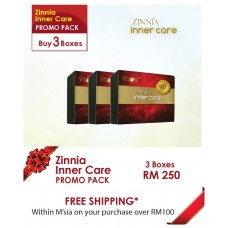 Zinnia Inner Care 3 Boxes Package