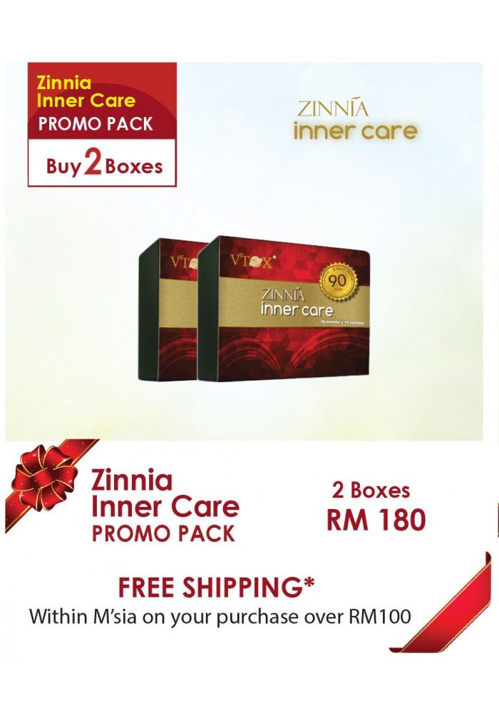 Zinnia Inner Care 2 Bxs Package