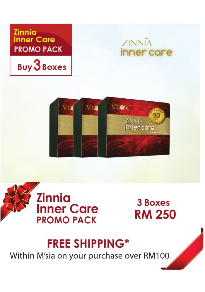 Zinnia Inner Care 3 Bxs Package